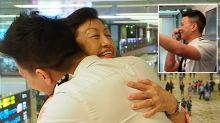Jetstar pilot's heartwarming surprise for parents on board