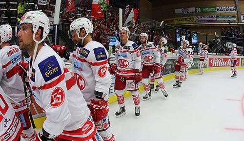 Eishockey: KAC-Profis schlagen Räuber in die Flucht