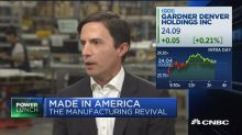 Gardner Denver CEO: Manufacturers can 'absolutely' make p...