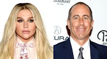 Jerry Seinfeld relives the moment he rejected a hug from Kesha
