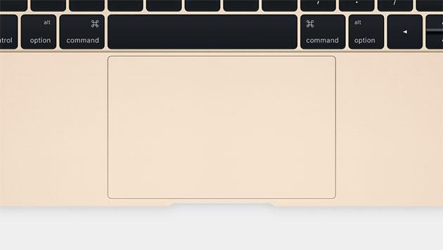 Apple's new MacBook has a completely redesigned trackpad
