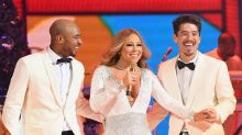 Mariah Carey Cozies Up to New Beau Bryan Tanaka Onstage in NYC