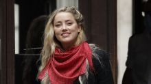"Amber Heard dice que ""no quería delatar"" a Johnny Depp"