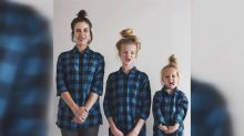 Mom and daughters go viral with matching outfits
