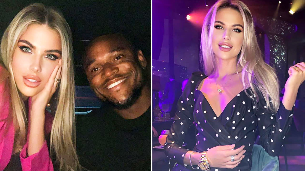 'Married to a black man': Football WAG's death threat ordeal