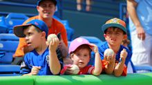 Spring training baseball is for the fans