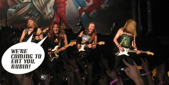 Report: Jason Rubin's Iron and the Maiden sued by ... Iron Maiden [UPDATE]