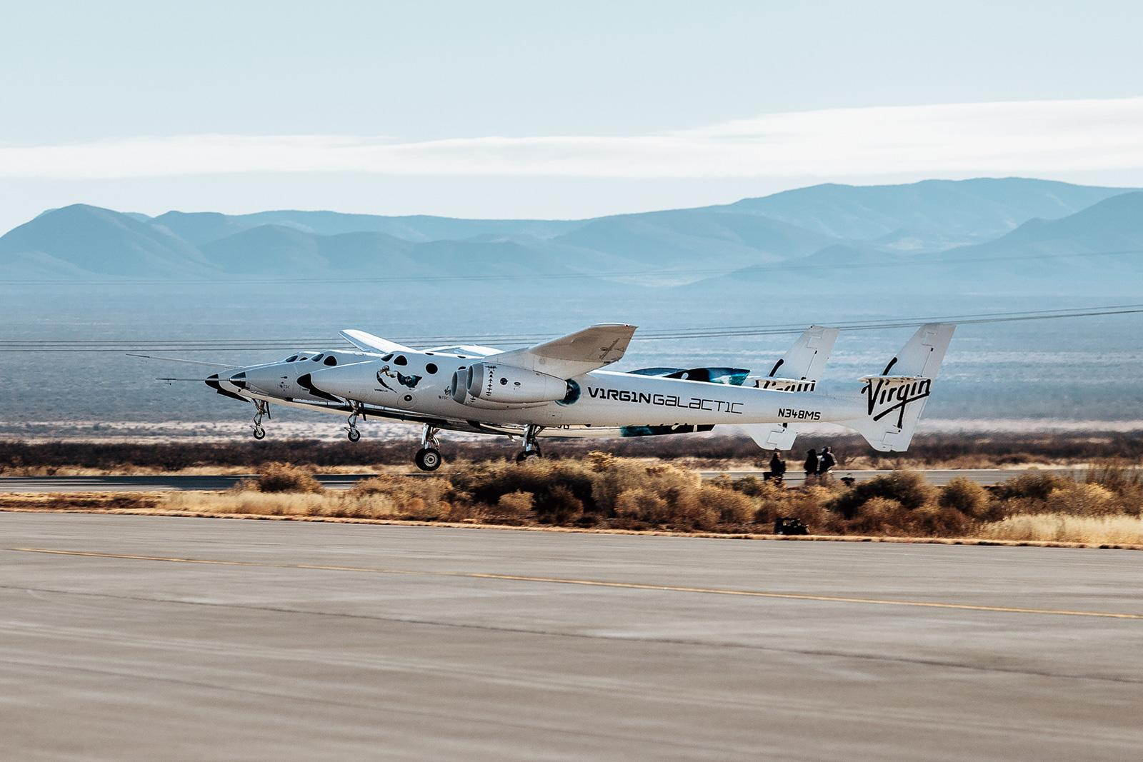 Virgin Galactic's latest SpaceShipTwo test ends with a rocket motor failure (updated)   Engadget