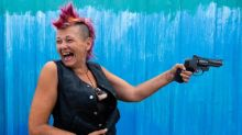 Photographing Slab City, California's off-grid drifter community