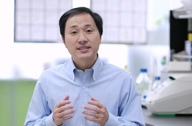 Chinese scientist claims he edited babies' genes with CRISPR