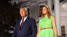Melania Trump's Lime RNC Dress Provided The Internet With The Perfect Green Screen