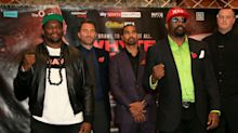 Chisora vows to 'pound' Whyte in heavyweight rematch