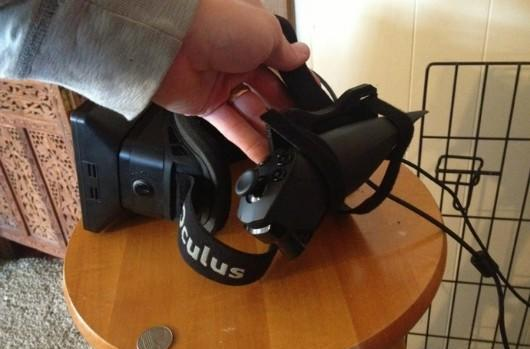 Attach more things to your head with Oculus Rift sensor, camera clips
