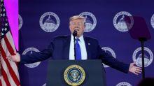 Scrambling to limit damage, Trump tells Turkey to stop its Syria invasion