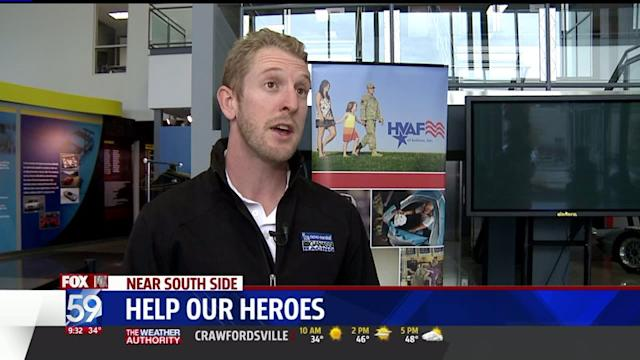 Indy Racing Community Helps Out Veterans