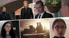 Next week on 'Coronation Street': Asha leaves Corey to die? Plus shots are fired as Sharon tries to flee (spoilers)