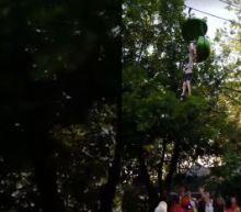 Girl Falls Out Of Six Flags Ride As Bystanders Catch Her From Below