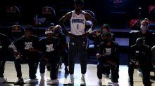 Magic's Isaac takes lone stand at NBA restart