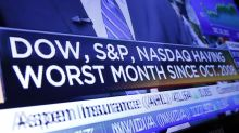 Markets roil, futures slump after Dow's record, one-day gain