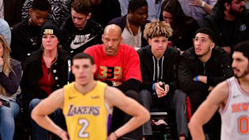 Oh, dad: LaVar Ball calls Lonzo 'damaged goods'