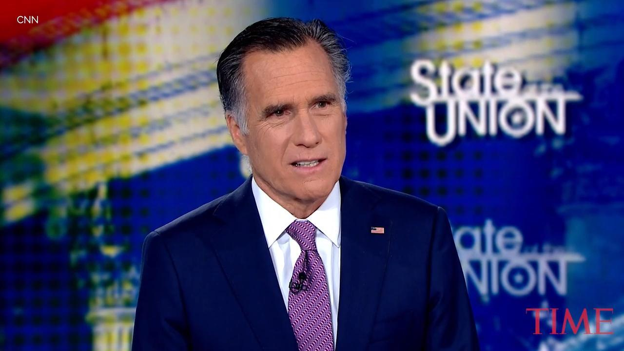 Mitt Romney Says GOP Rep's Call for Impeachment Is 'Courageous' Even as He Disagrees