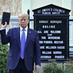Trump Poses With Bible After Having Protesters Cleared Away With Tear Gas
