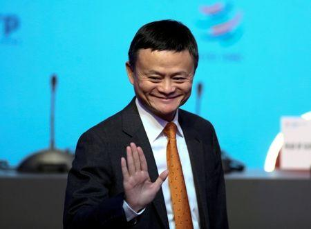Alibaba Group Executive Chairman Jack Ma gestures as he attends the 11th World Trade Organization's ministerial conference in Buenos Aires, Argentina December 11, 2017. REUTERS/Marcos Brindicci/Files