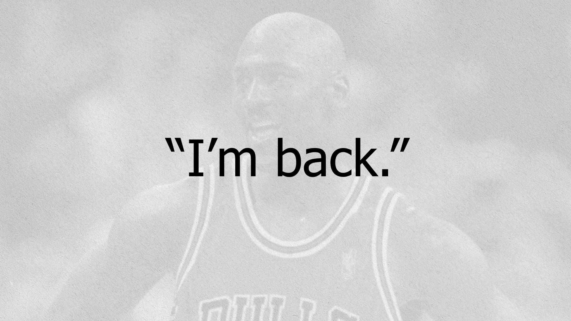 NBC Sports Chicago airing 'I'm Back' documentary about Michael Jordan's return to the NBA
