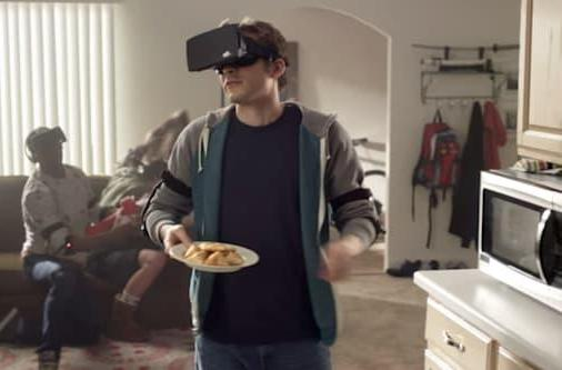 Hot Pockets imagines its greasy place in the VR gaming future