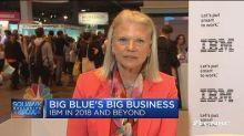 IBM CEO: Our blockchain runs on our public cloud