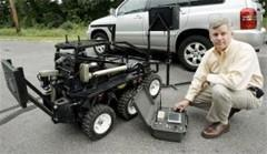 Father develops unmanned ground bots in memory of son's death in Iraq