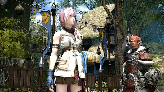 Final Fantasy 14: A Realm Reborn plays host to Lightning