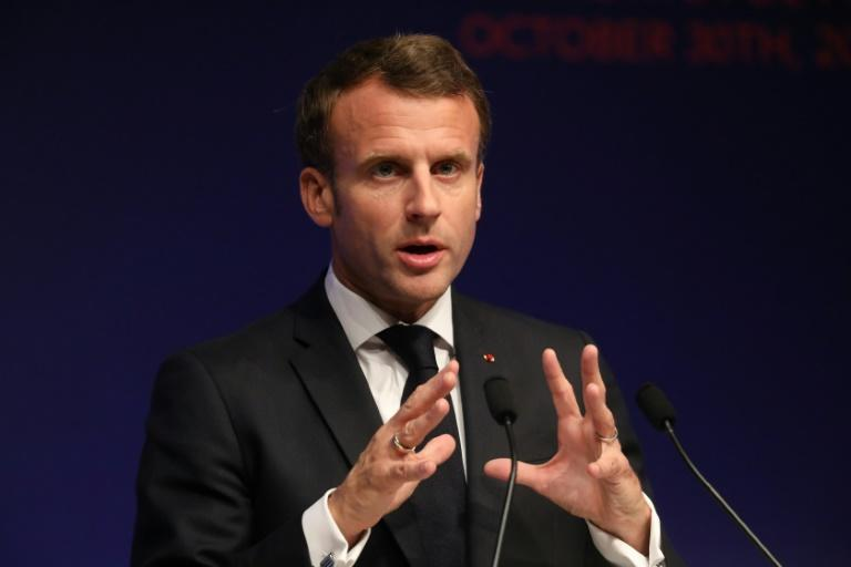 Macron says Europe is facing the 'brain death of NATO'