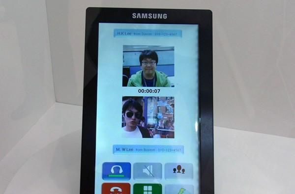 10.1-inch Galaxy Tab teased with prototype panel?