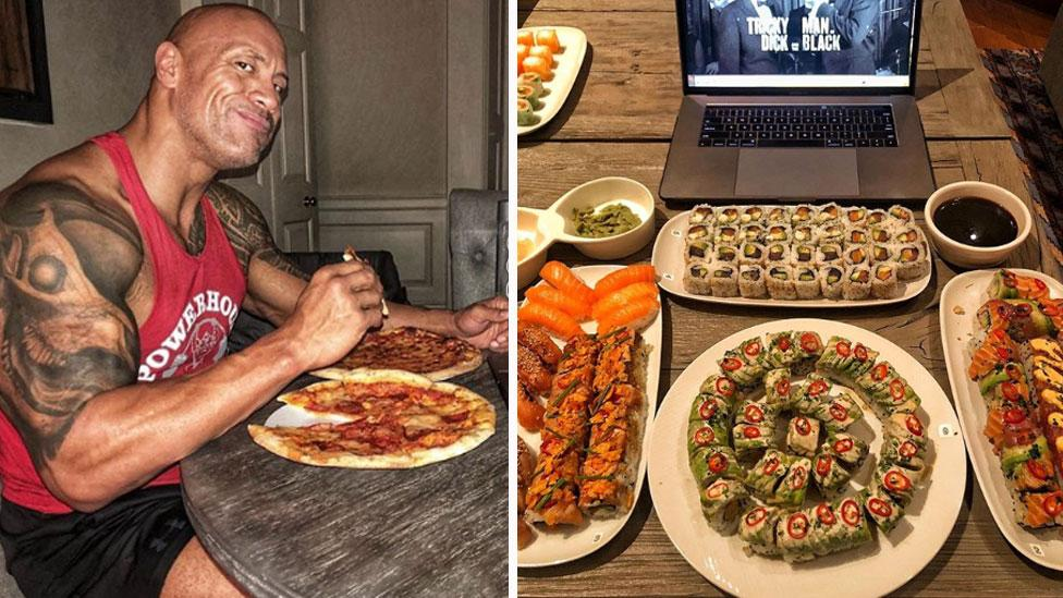 The Rock S Insane Cheat Day Meal