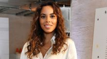 Rochelle Humes owns the perfect high street autumn dress