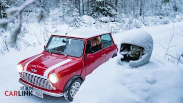 MINI送一台車給82歲的阿公當聖誕禮物?賽車迷:他可是拉力教授Rauno Aaltonen啊!