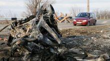 Two killed after minibus hits landmine near east Ukraine's Donetsk