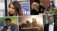 Next week on 'Coronation Street': Alina is pregnant, plus Gail has a heart attack (spoilers)
