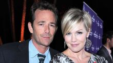 Jennie Garth Says the Late Luke Perry's 'Energy' Is Felt on the BH90210 Set: 'He's with Us'