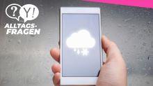 Alltagsfrage: Warum widersprechen sich Wetter-Apps so oft?