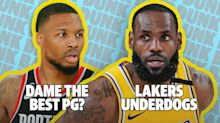 Laker's Underdog Story and Dame vs Steph