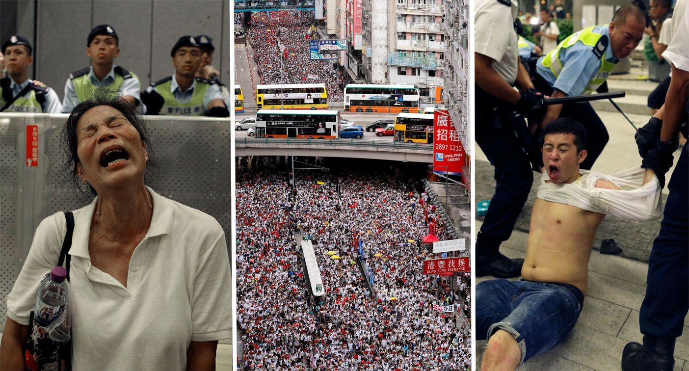 Massive protests erupt in Hong Kong over fears of China ...
