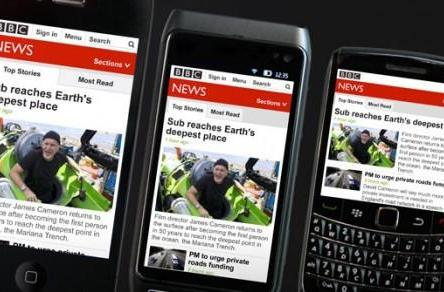 BBC News Online adapts mobile site to smartphone demands, doesn't discriminate against specs