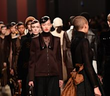 Fendi's fashion farewell to Lagerfeld