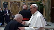 Francis pays tribute to Benedict, reflects on age