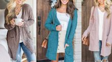 The 'chunky' cardigan that's majorly trending right now is only $31 on Amazon