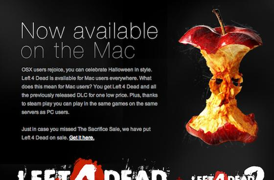 Valve releases the original Left 4 Dead just in time for Halloween
