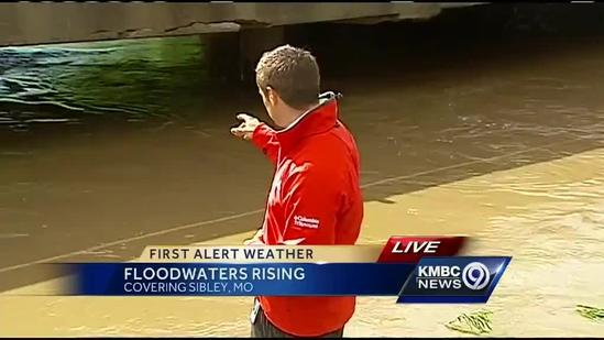 Rising waters cause concern in rural Jackson County