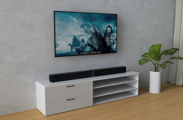 Cowin's $80 soundbar splits in half for easy surround sound